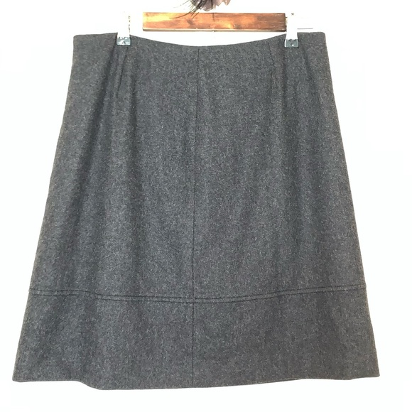J. Crew Dresses & Skirts - J.Crew wool grey skirt